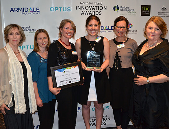 Innovation award for Discovery Voyager program