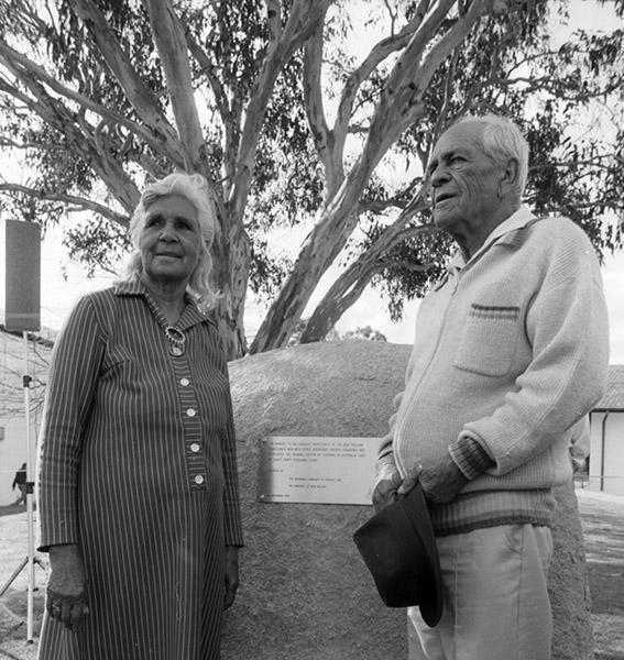 1998 Ethel de Silva and Bill Murray at the Commemorative Rock