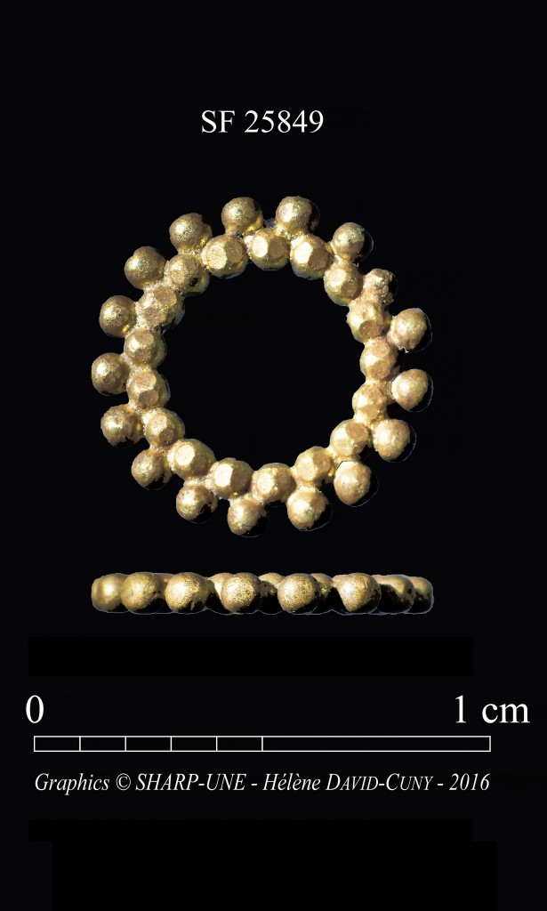 The 3,000 year old ring, almost identical to the inspiration of the Dubai 2020 World Expo logo