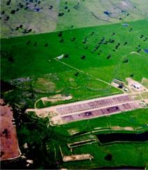 aerial photo of the 'Tullimba' Feedlot
