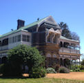 Front of Saumarez Homestead