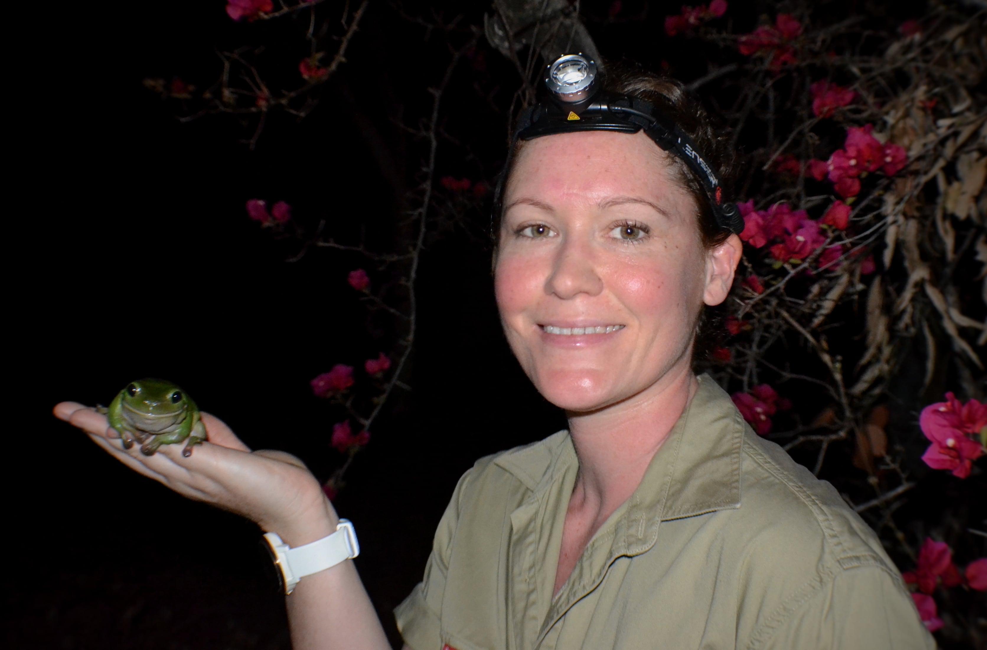 Dr Debbie Bower, head of UNE's LAZER lab.