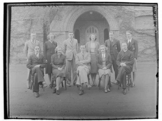 New England University College directors in 1939