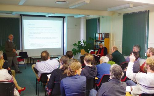 Dr Chris Nadolny seminar presentation
