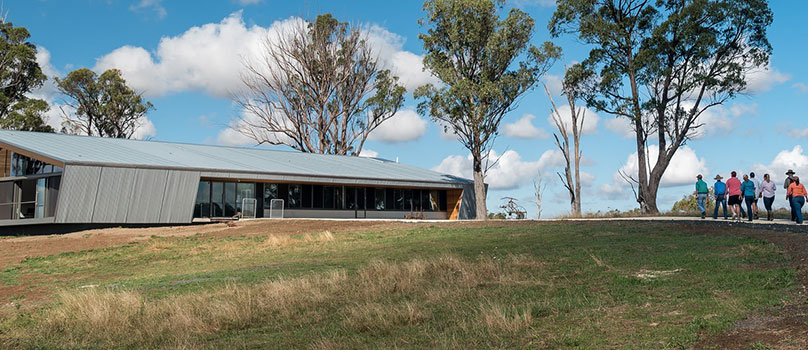 Landscape view of the SMART Farm Innovation Centre