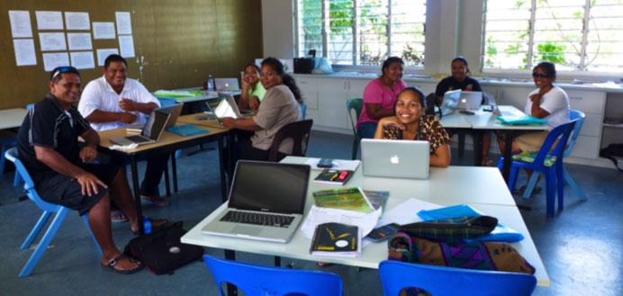 Image of Nauru teachers