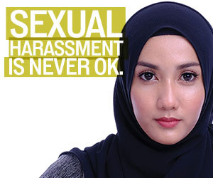 Sexual Harassment is never OK