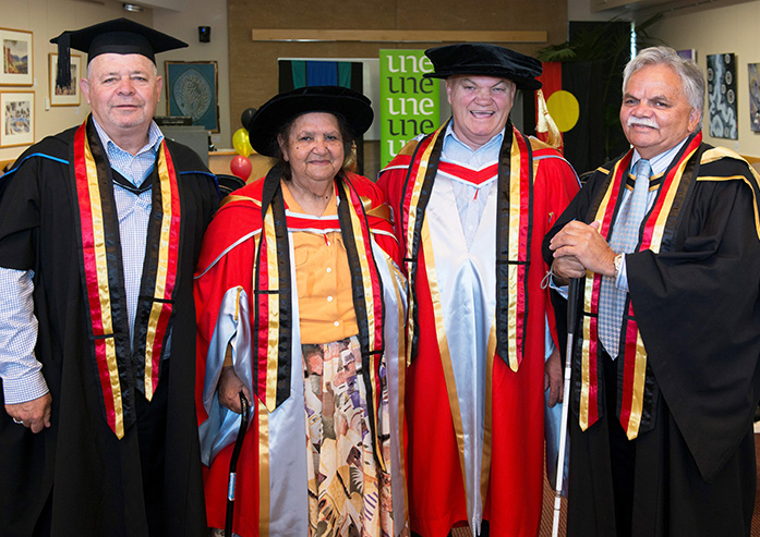 2017 Honorary Doctorates Awarded to Ms Dianne Roberts and Mr Jack Beetson