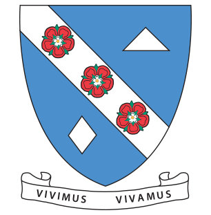 Duval college crest, with motto