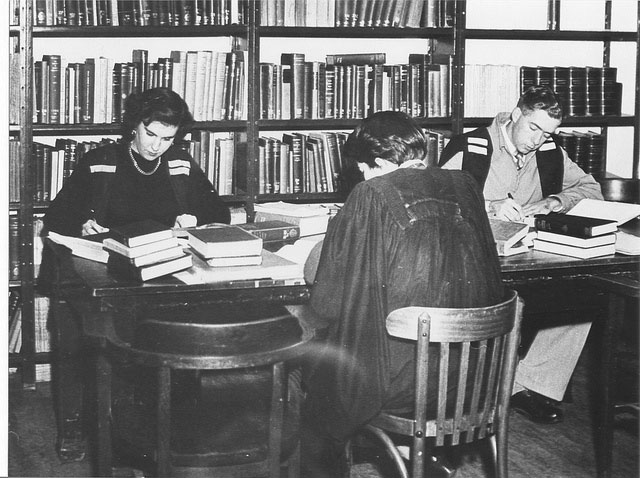 Dixson Library in the early days