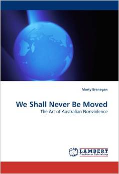 We shall never be moved book cover