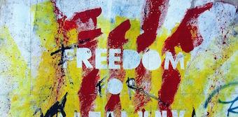 Political graffiti