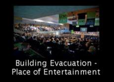 link to entertainment space evacuation response plan