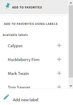 label-menu