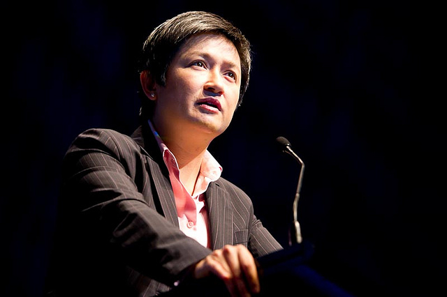 Penny Wong lecture at UNE