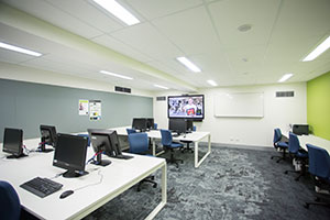 Computer labs with video conferencing