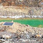 Derelict mine rehabilitation and monitoring