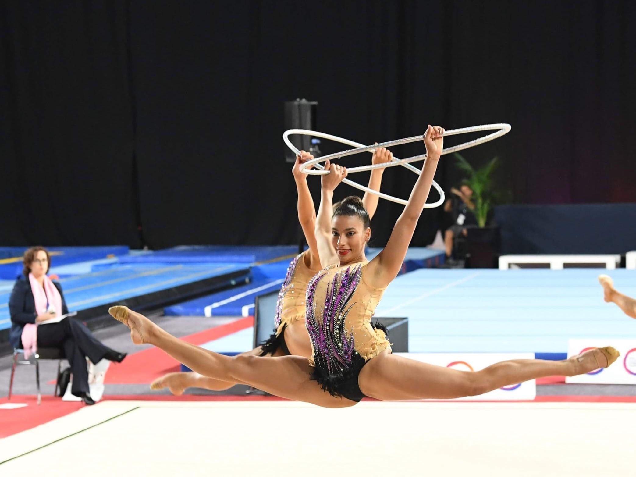 Alexandria Teixeira performs