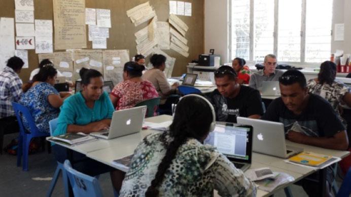Image of Nauru classroom teachers