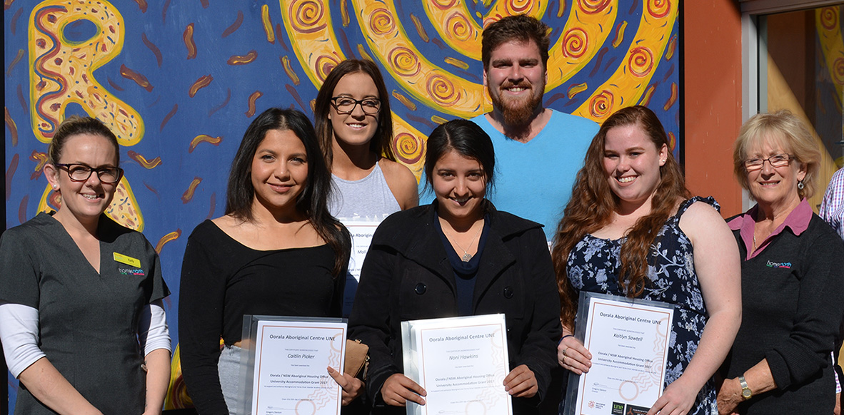 AHO Residential Scholarship recipients