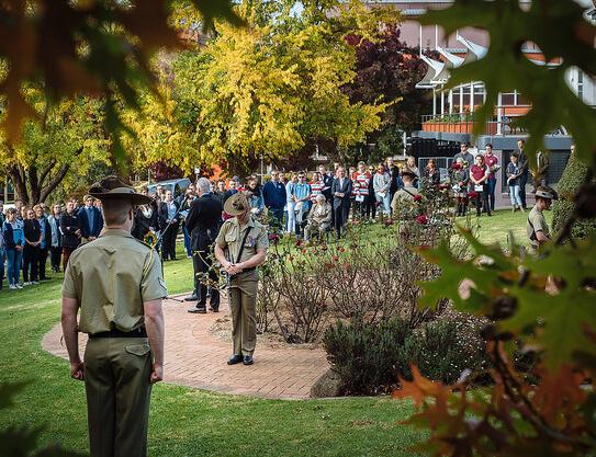 UNE ANZAC Day Ceremony