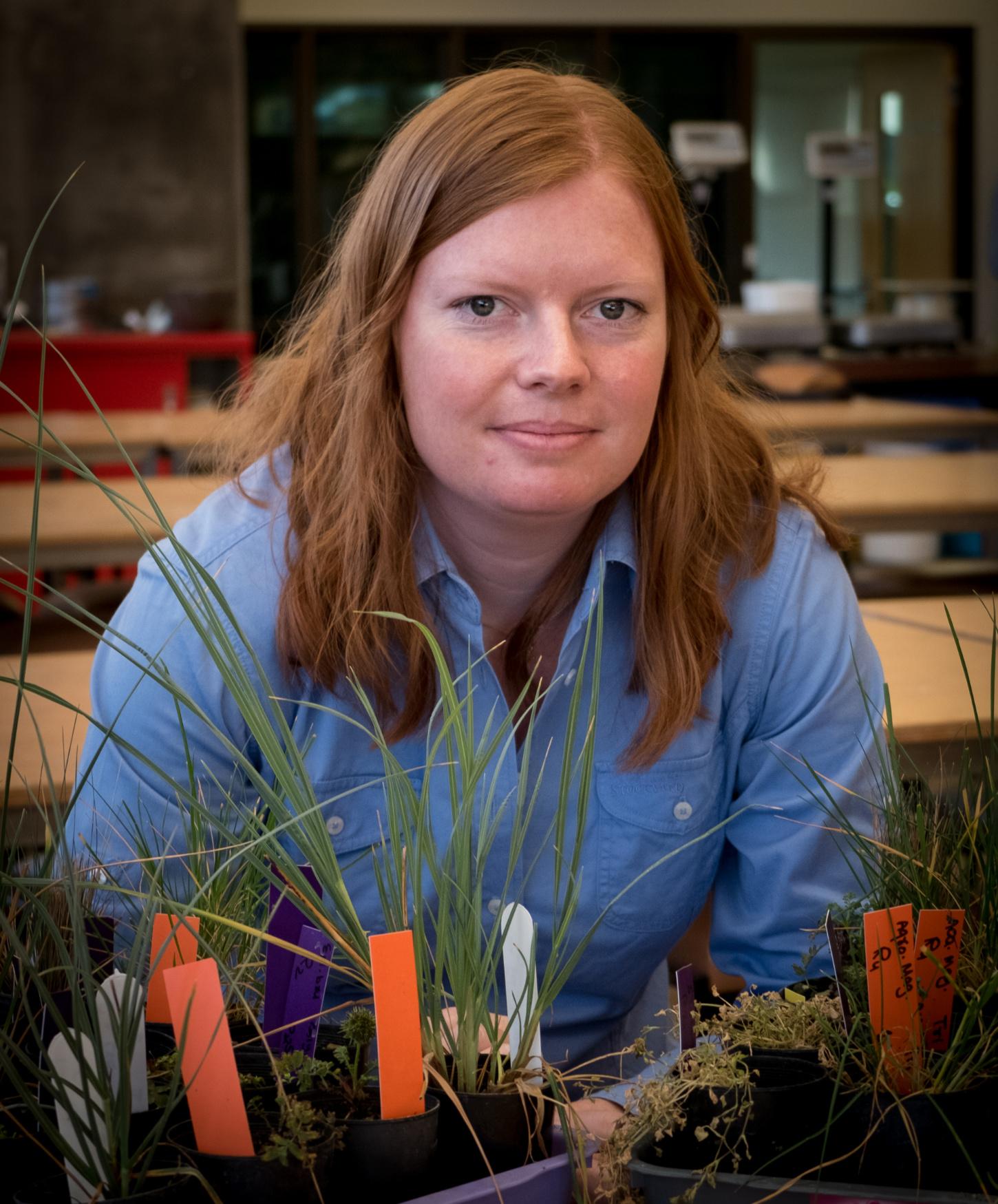 Kirsten Drew, UNE PhD student researching glyphosate.