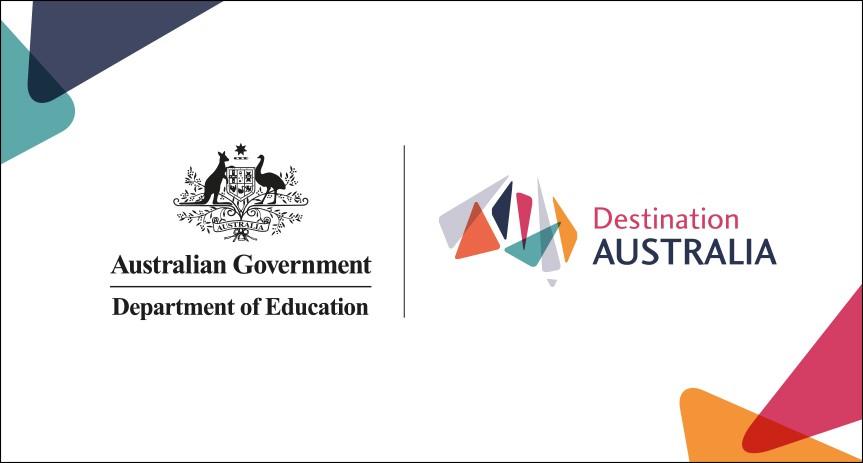 Department of Education / Destination Australia Logo