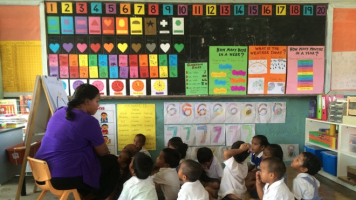Image of Nauru classroom