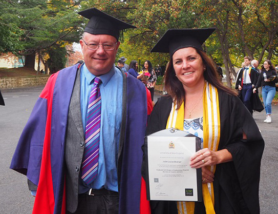 UNE turns higher education on its head