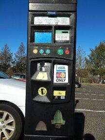 Northern Car Park Ticket Machine