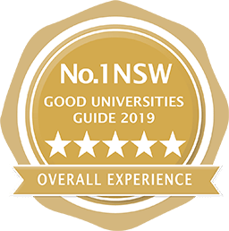 Good Universities Guide Five Star Seal for Overall Experience