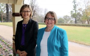 Dr Kate Wilson, OEH, and Professor Annabelle Duncan