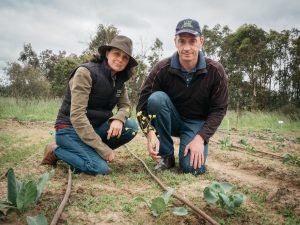 University of New England researchers Christine Fyfe, Research Project Manager, and Michael Coleman, Institute for Rural Futures, will be part of the HIA-funded research project into integrated weed management in vegetables.