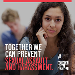 Together we can prevent sexual assault and harassment