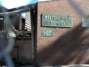 Kelso high fire