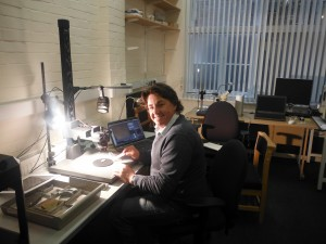 VC Scholar, Tim Richards, at Oxford Museum of Natural History