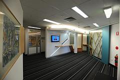 T C Lamble Foyer