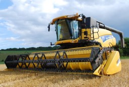 Picture of combine harvester